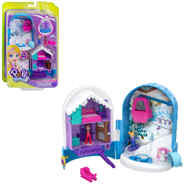 Polly Pocket Big World Snowball Surprise